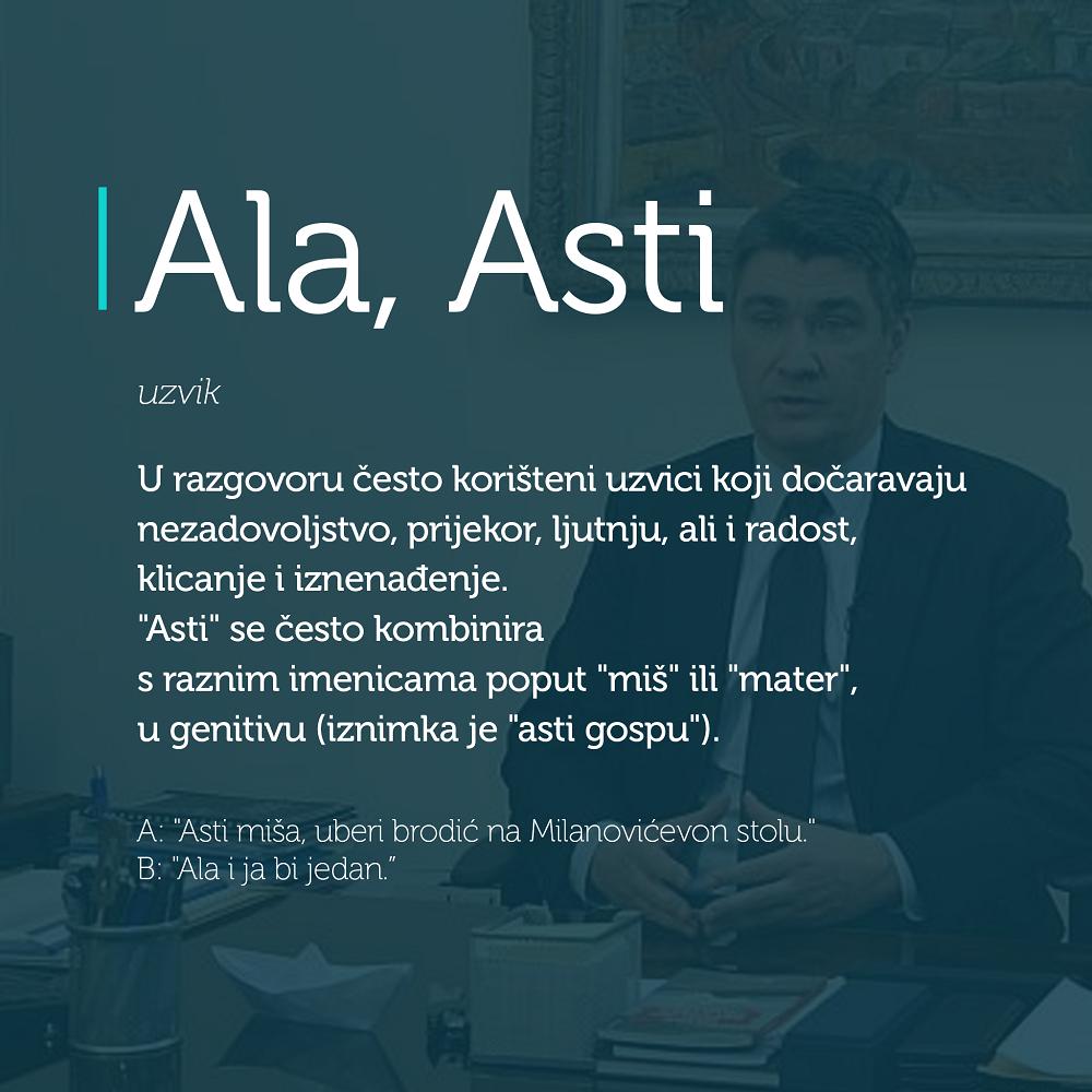 Ala, Asti